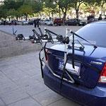 Portabiciclette per auto