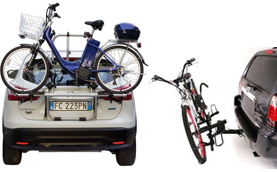 Tipologie di portabici per E-Bike